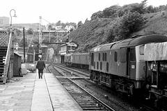 Bangor Station North Wales 1973