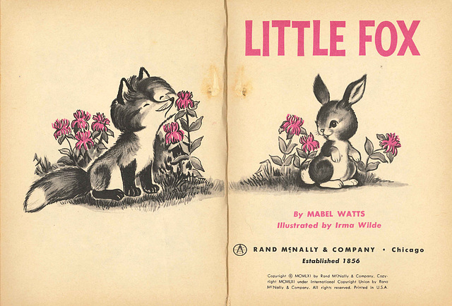 Little Fox - Title Page