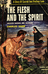 Popular Library 543 - Charles Shaw - The Flesh and the Spirit