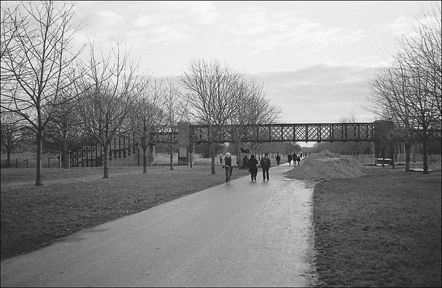 Canal Bridge, Burgess Park.
