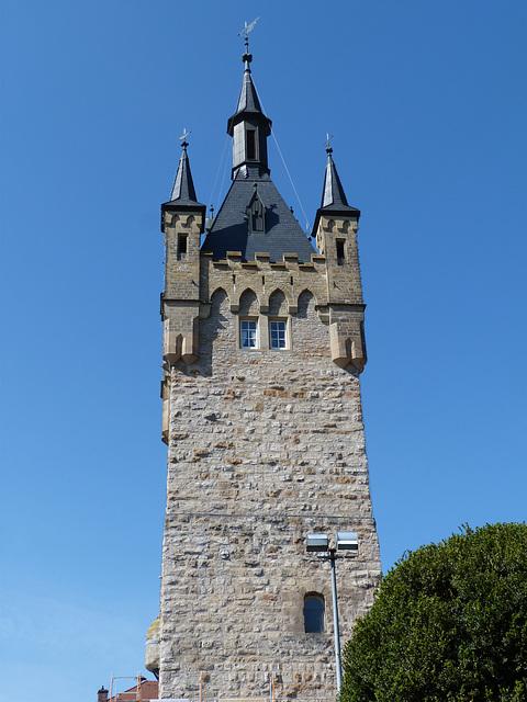 Der blaue Turm ...