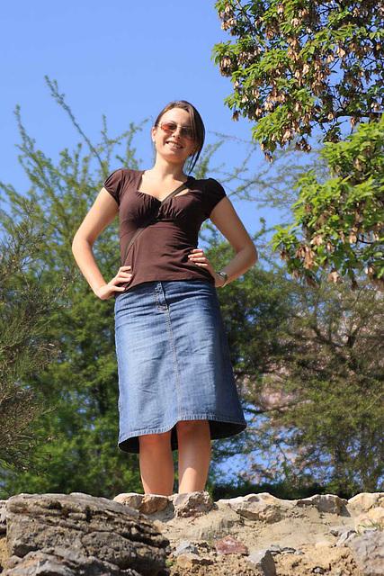 Blue Jean's Skirt