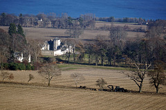 Foulis Castle, Evanton, Ross-shire, Scottosh Highlands