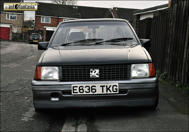 1988 Vauxhall Nova Merit - E636 TKG