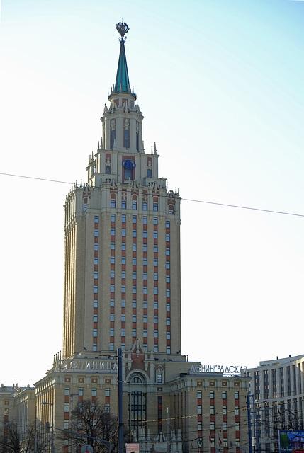 Moscow  GRD Hilton Leningradskya 3