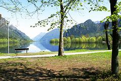 Südliches Ende des Lago d'Idro. ©UdoSm