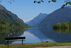 Lago d'Idro. Crone. Ein Ort um sich zu erholen...  ©UdoSm