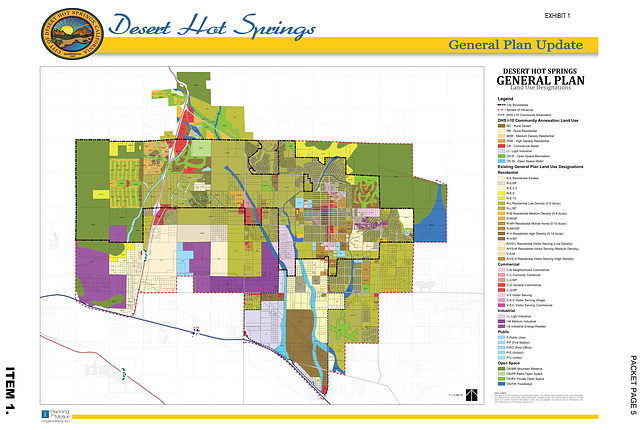 desert hot springs zoning map Ron S Log Dhs Planning Commission March 11 2014 desert hot springs zoning map
