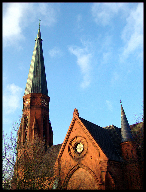 It was a beautiful day