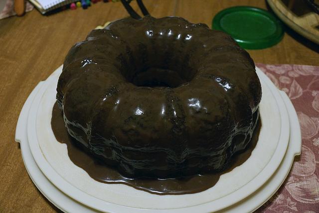 Chocolate Bundt Cake With Ganache