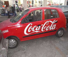 Coca-cola on wheels / Coca sur roues.
