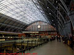 St. Pancras International, Picture 2, London, England (UK), 2014