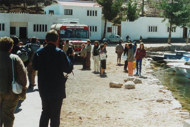 06 Copacabana: Disembarking for Entry Into Bolivia