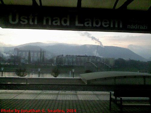 Usti nad Labem Hlavni Nadrazi, Edited Version, Usti nad Labem, Ustecky kraj, Bohemia (CZ), 2014