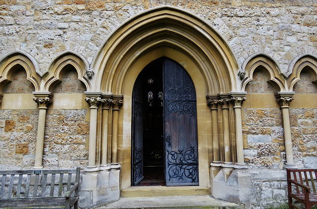enfield, southgate, christ church, london