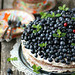 Banaani ja mustikatega tort / Banana and blueberry cake