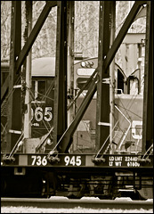 Rail Yard, Quesnel, BC