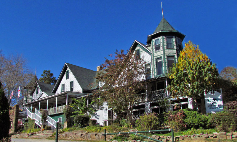 Mentone Springs Hotel (Sadly, now only a memory)