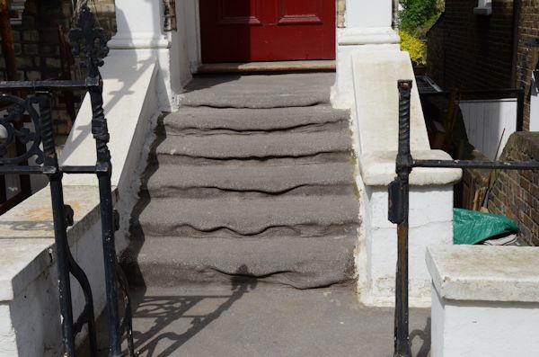 Melted steps