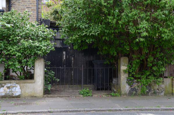 Hidden garage