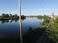 The Saginaw River this morning.