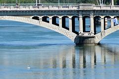 Pont sur la Saône