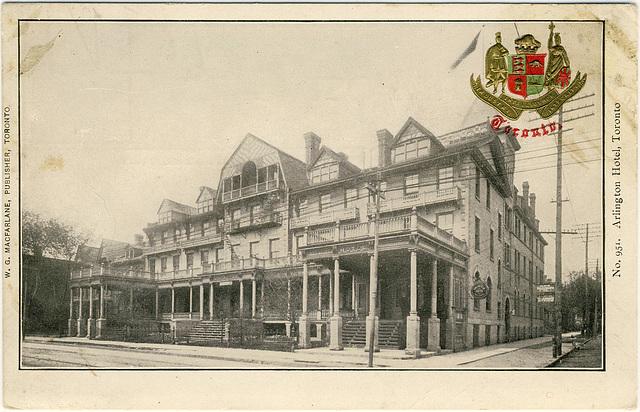 Arlington Hotel, Toronto