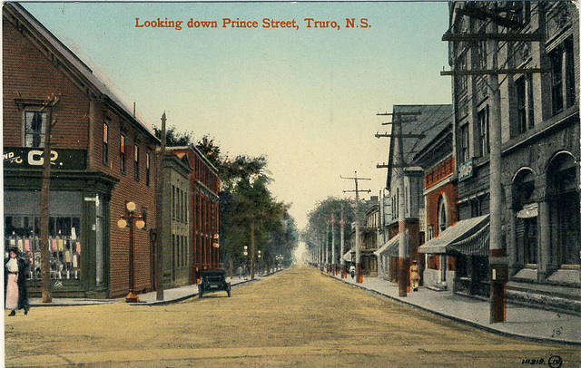 Looking down Prince Street, Truro, N.S.