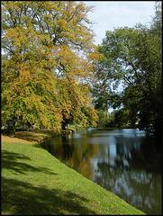 River Cherwell in autumn