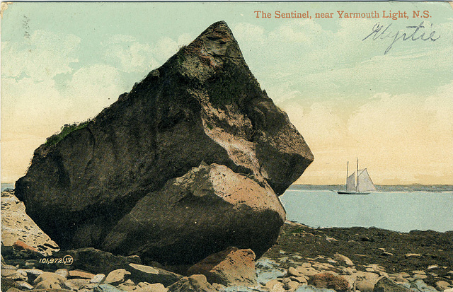 The Sentinel, near Yarmouth Light, N.S.
