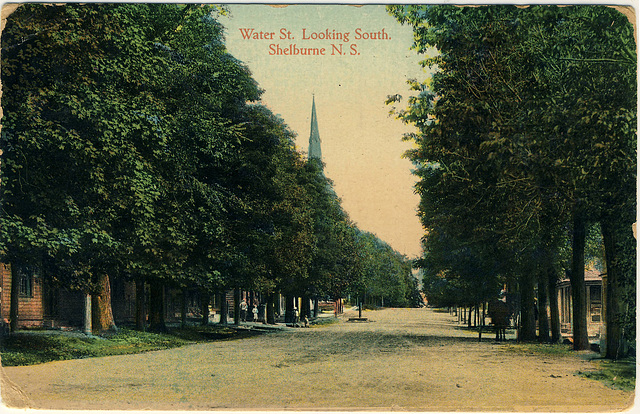 Water St. Looking South. Shelburne, N.S.