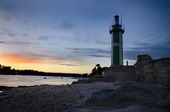 Bénodet, phare Le Coq