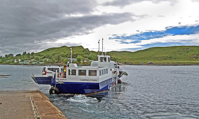 Luing Island Ferry