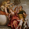 """Happy Union"" from ""The Allegories of Love"", one of four canvases by Paul VERONESE"