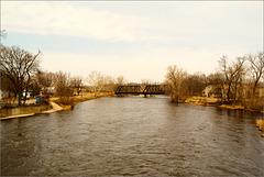 The Portland Railroad Bridge
