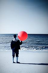 Red ballon à Lesconil