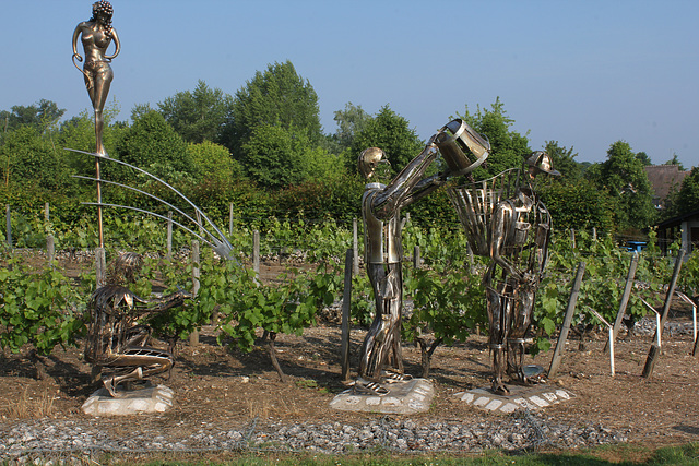 Sculpture vendanges