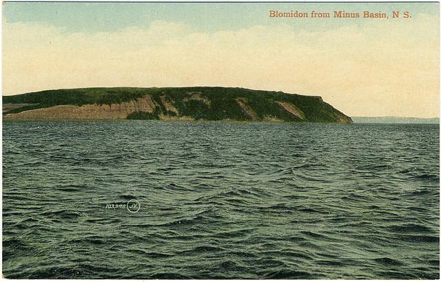 Blomidon from Minus Basin, N.S.