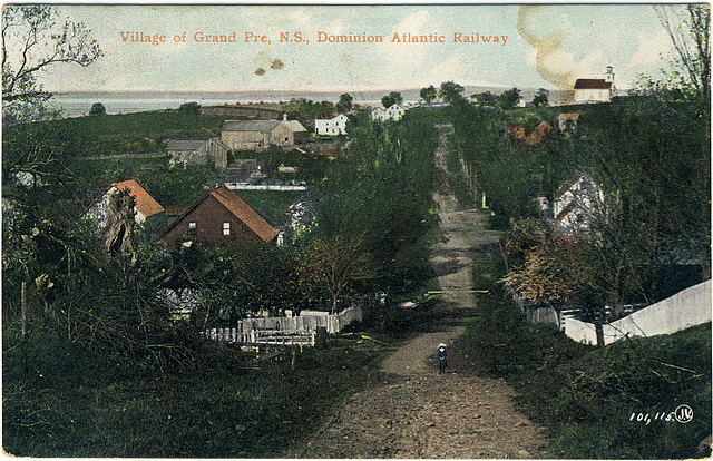 Village of Grand Pre, N.S., Dominion Atlantic Railway