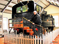 Chris with Fell Engine, Featherston