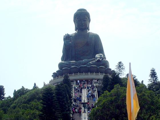 Le Grand Bouddha ((Ile de Lantau)