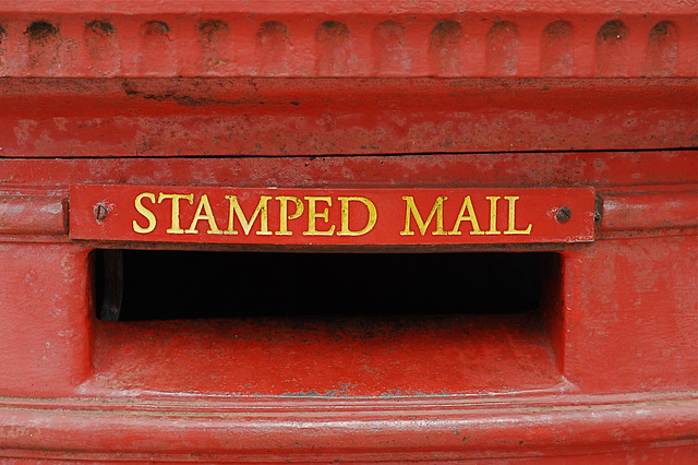 Stamped Mail