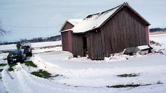 Granary in Winter