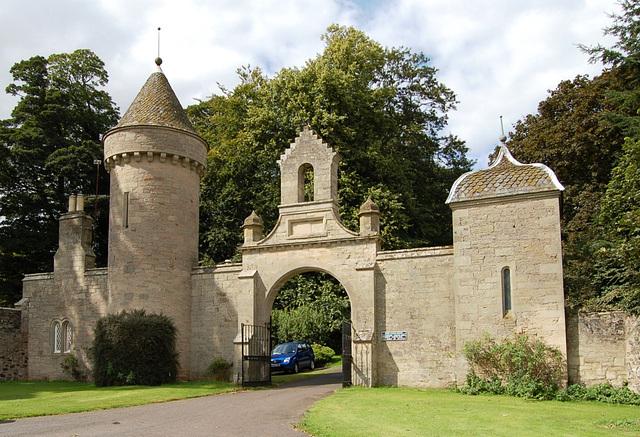 South Lodge, Duns Castle, Duns, Borders, Scotland