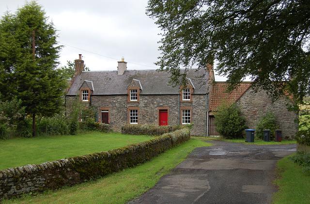 Cottages on the Spottiswoode Estate, Borders, Scotland