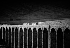 Evening Local, Ribblehead, North Yorkshire, England.