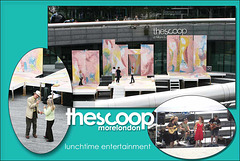 The Scoop lunchtime entertainment 2006 & 2008
