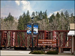 Railroad Station Quesnel, British Columbia