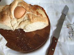 Casatiello (pane di pasqua tipico di Napoli)