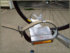 Pedal, Cage, & Wheel